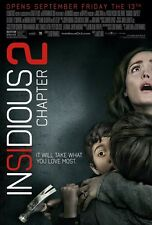 Insidious movie poster - 11 x 17 inches - Insidious 2 poster, Horror, Rose Byrne