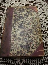"""1856 Blackwood Magazine July-Dec. 9 3/4"""" x 5 3/4"""" Book Sold in As/Is Condition"""