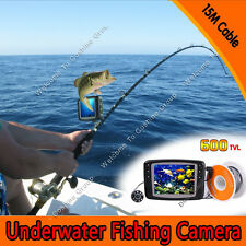 "3.5"" TFT color monitor LCD 15M Underwater Camera  ICE/SEA FISHING Fish Finder"