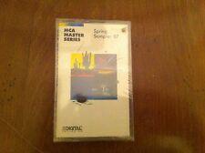 MCA MASTER SERIES Spring Sampler 1987 Cassette ACOUSTIC ALCHEMY John Jarvis NEW