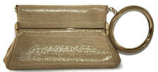 DIOR babe bracelet retro clutch bag metallic gold mirror handbag evening