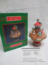 New Enesco Toy Store In A Top Multi-Action Toys Music Box NIB