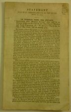 1848 ST GEORGE'S EPISCOPAL CHURCH in NEW YORK vote on MOVE to STUYVESANT SQUARE