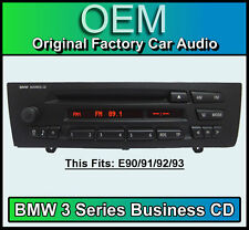 BMW Business CD player, BMW 3 Series car stereo, BMW E90 E91 E92 E93 radio unit