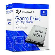 "1TB 2.5"" Seagate Game Hard Drive SSHD Solid State Hybrid  for Playstation 4 & 3"
