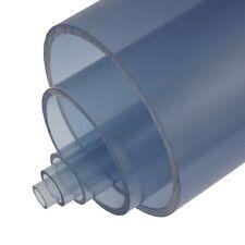 """1 1/2 x 19"""" CLEAR PVC SCH 40 PIPE E1395-015-19-A"""