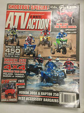 ATV Action Magazine Which EFI 450 Best For Track Or Trail May 2009 032617nonR