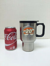 Tony Stewart #20 14 ounce Stainless Steel Travel Mug-Classic Home Depot Logo
