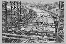 SYDNEY Harbour Bridge Steelwork Construction 1928 Road modern digital Postcard