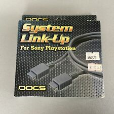 DOCS Ps1 Playstation PSX Link Cable System Link Up New NIB
