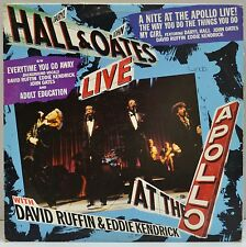 """Daryl Hall & John Oates, Live At the Apollo, 12"""" 45RPM Record 5d, 1985, TDS 292"""