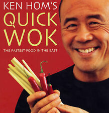 Ken Hom Ken Hom's Quick Wok: The Fastest Food in the East Very Good Book