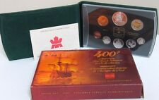 2004 PROOF DOUBLE DOLLAR SET - CANADIAN 8-COIN SET - CASE, BOX & CERTIFICATE