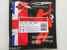 Rotosound SM77 Jazz Bass Guitar Strings Monel Flatwound Long Scale Hybrid Gauge