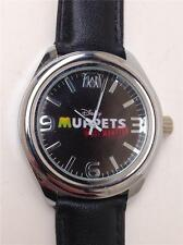 "Disney Muppets ""Most Wanted"" Quartz Wristwatch with Black Watchband"