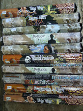 200 Incense Sticks 10 pks Joblots Mixed Set Home Scent dawn of time mystic spiri