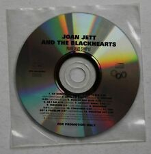 Joan Jett And The Blackhearts Pure And Simple Ger Adv CD 1994