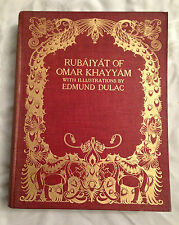 Edmund Dulac - Rubaiyat Of Omar Khayyam - 20 Illustrated Plates - 1st Ed 1909
