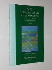 The Lawn Tennis Championships Wimbledon Official Programme 1998. 11th Day.