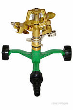 METAL SPINNER SPRINKLER METALBASE GARDEN LAWN IRRIGATION 1/2inch 1qty