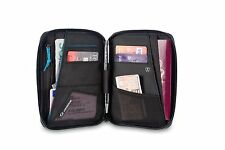 Lifeventure RFID Mini Travel Wallet for Passports, Credit Card, Tickets
