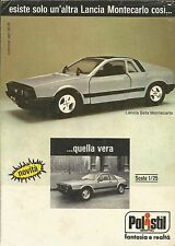 X9332 POLISTIL - Lancia Beta Montecarlo - Pubblicità 1976 - Advertising