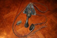 VINTAGE WESTERN ELECTRIC #396A OPERATORS HEADE SET AND CHEST PLATE