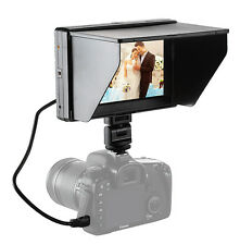 Mcoplus Viltrox 7'' DC-70II Clip-on Color TFT HD LCD Monitor Display for DSLR