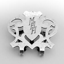Arts And Crafts Openwork Napkin Clip Sterling Silver 1920
