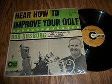 BOB ROSBURG -HEAR HOW TO IMPROVE YOUR GOLF