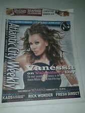 VANESSA WILLIAMS COVER ATLANTIC CITY PAPER FEB 13-18, 2014 NEVER READ