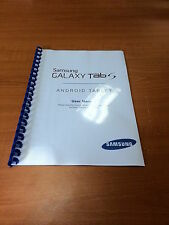 SAMSUNG GALAXY TAB S 8.4 SM-T700 PRINTED INSTRUCTION MANUAL GUIDE 82 PAGES A5