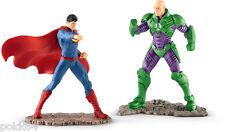 DC Comics pack 2 figurines Justice League #14 Superman Lex Luthor Schleich 22541