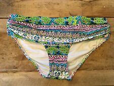 "Blue Multi~SMALL~Victoria's Secret ""THE HEAVENLY BIKINI"" Swimsuit Bottom VS!"