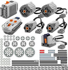 Lego Power Functions PRO  (technic,motor,gear,pin,axle,bush,remote,receiver,car)