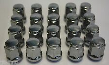 20 X M12 X 1.5 TAPERED ALLOY WHEEL NUTS FIT MAZDA 323 626 929
