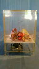 "Vintage Designs by INGRID Flowers & Butterflys Music Box Plays ""Sound of Music"""