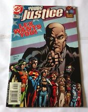 YOUNG JUSTICE #35 LEX WANTS YOU DC COMIC BOOK SEP 2001 HB104DC