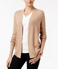 Nwt Charter Club Cashmere Cardigan Sweater Camel Small S