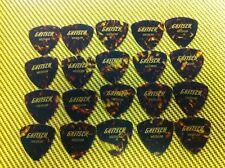 20 GRETSCH GUITAR PICKS CELLUOID TORTOISE LARGE TRIANGLE THIN GAUGE