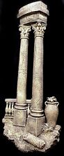 "31"" Greek Roman Column Wall Home Decor Sculpture"