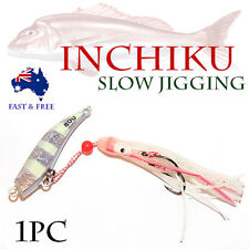 Glow 80g Inchiku Jig Micro Octo Jigs Fishing Lure Jigging Ship Snapper King Slow