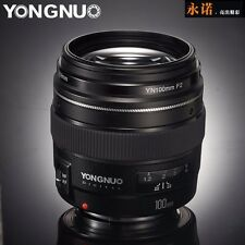 YONGNUO YN100mm F2 AF Large Aperture Auto Focus Lens for Canon EOS DSLR Cameras