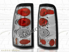 1999-2002 CHEVY SILVERADO TAIL LIGHTS CHROME 2000 2001