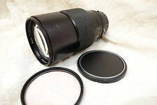 Nikon Nikkor sun classic 200mm f/2.8 2.8  AI MF Telephoto Lens. sharp lens