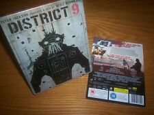 DISTRICT 9 HMV UK Blu-ray steelbook rara OOP tutte le multi