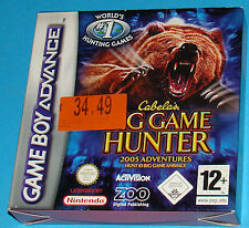 Big Game Hunter - Game Boy Advance GBA Nintendo - PAL