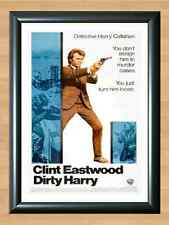 DIRTY HARRY U.S Movie Poster CLINT EASTWOOD Style B A4 PRINT POSTER PHOTO WALL