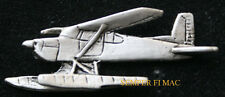 180 SEAPLANE HAT LAPEL PIN UP CESSNA MADE IN THE USA FLOAT PLANE PILOT CREW GIFT