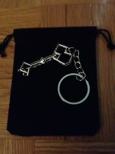 The Hobbit LOTR Lord of the Rings Thorin Oakenshield Key to Erebor Keychain